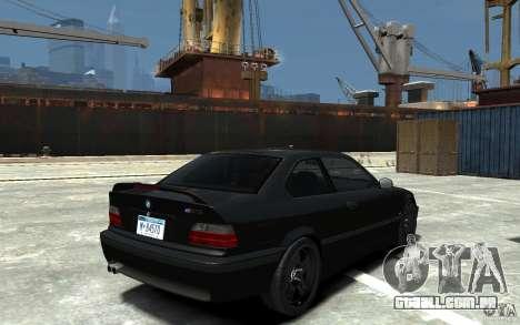 BMW M3 E36 v1.0 para GTA 4 vista interior