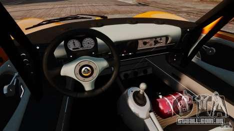 Lotus Exige 240 CUP 2006 para GTA 4 vista de volta