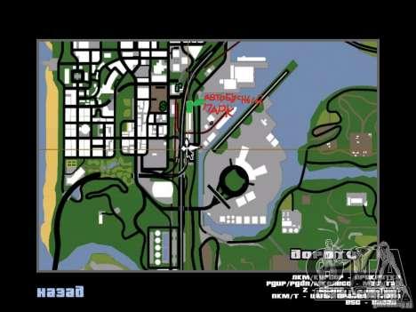 Ônibus Parque v 1.1 para GTA San Andreas sétima tela