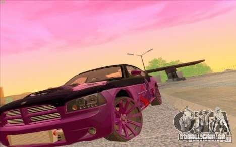 Dodge Charger SRT 8 para GTA San Andreas vista direita