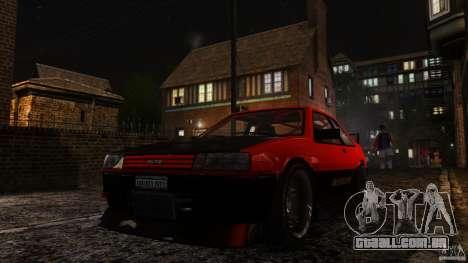 Futo GTRS para GTA 4 vista de volta