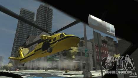 Yellow Annihilator para GTA 4 vista direita
