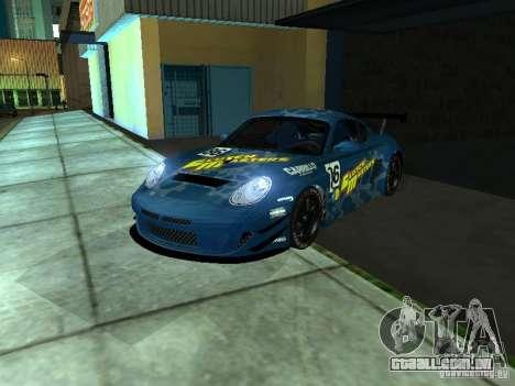 Porsche Cayman S NFS Shift para GTA San Andreas vista traseira