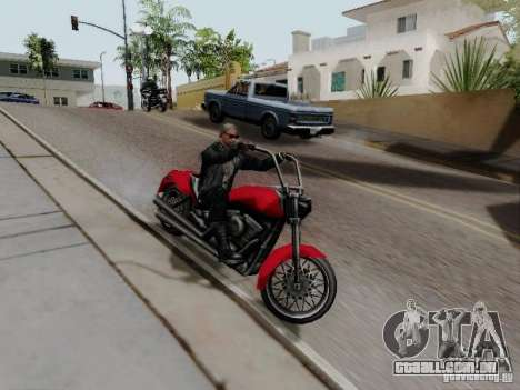 Vice City Freeway para GTA San Andreas vista direita