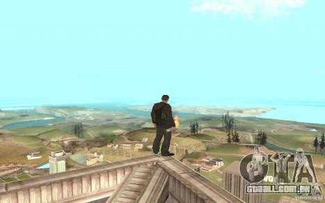 Unique animation of GTA IV V3.0 para GTA San Andreas oitavo tela