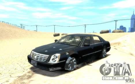 Cadillac DTS v 2.0 para GTA 4 vista inferior