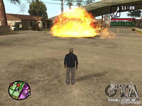 Overdose effects V1.3 para GTA San Andreas terceira tela