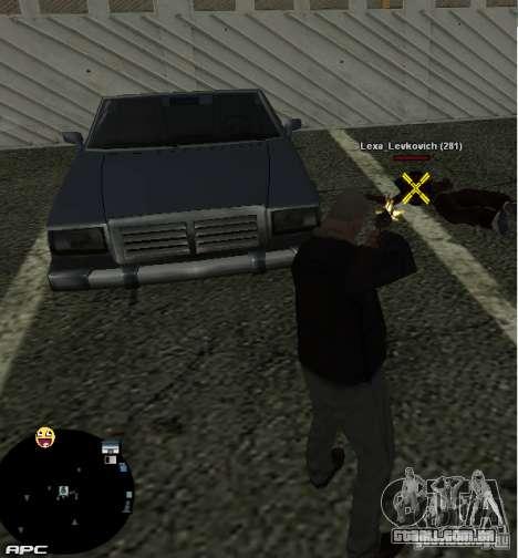 HUD №2 para GTA San Andreas terceira tela