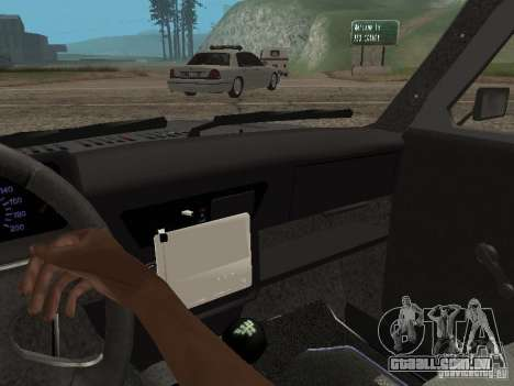VAZ 21214 Niva para GTA San Andreas vista traseira