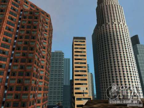 Nova textura de arranha-céus do centro da cidade para GTA San Andreas por diante tela