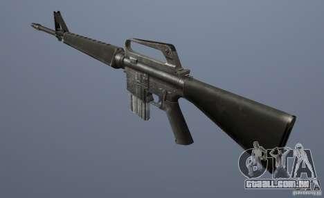M16A1 para GTA Vice City segunda tela
