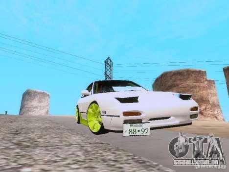 Nissan Silvia S13 Drift Style para GTA San Andreas vista direita