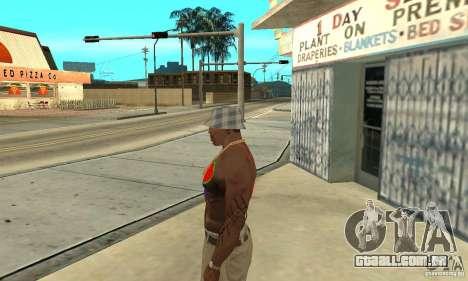 Tatuagem legal no CJ-eu no corpo para GTA San Andreas segunda tela