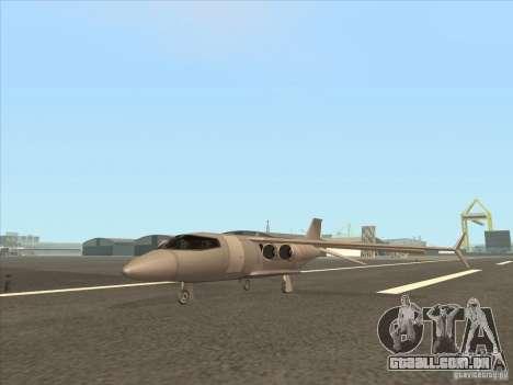 Cargo Shamal para GTA San Andreas