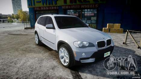 BMW X5 Experience Version 2009 Wheels 214 para GTA 4 vista interior