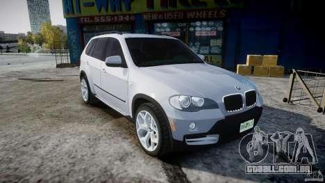 BMW X5 Experience Version 2009 Wheels 214 para GTA 4 vista interior