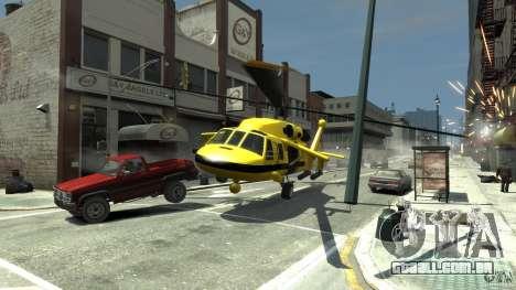Yellow Annihilator para GTA 4 vista lateral