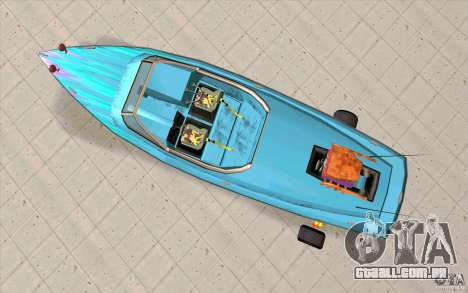 Hot-Boat-Rot para GTA San Andreas vista direita