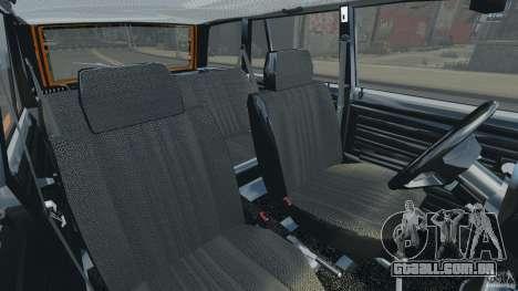 Vaz-21043 v 1.0 para GTA 4 vista interior