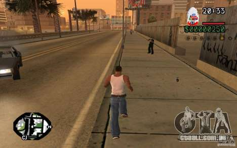 Kinder Surprise para GTA San Andreas segunda tela