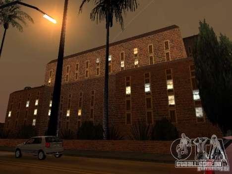 Novo hospital de texturas em Los Santos para GTA San Andreas por diante tela