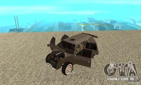 Jemala para GTA San Andreas vista traseira