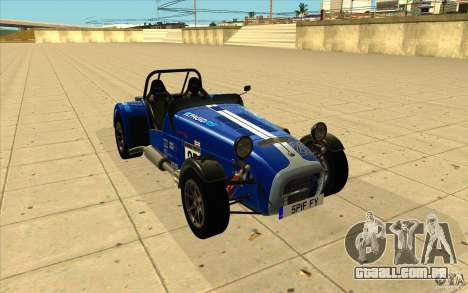 Caterham Superlight R500 para GTA San Andreas