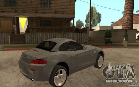 BMW Z4 sdrive35is 2011 para GTA San Andreas vista direita