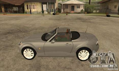 Mazda MX-5 2007 para GTA San Andreas esquerda vista