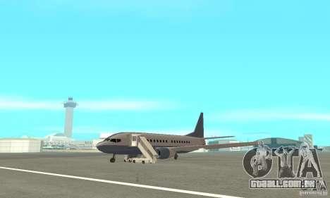 Airport Vehicle para GTA San Andreas twelth tela