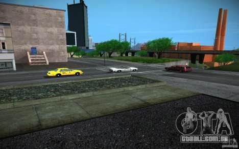 Estrada de HD (4 GTA SA) para GTA San Andreas por diante tela