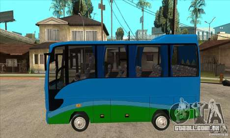 Iveco Eurocity para GTA San Andreas esquerda vista
