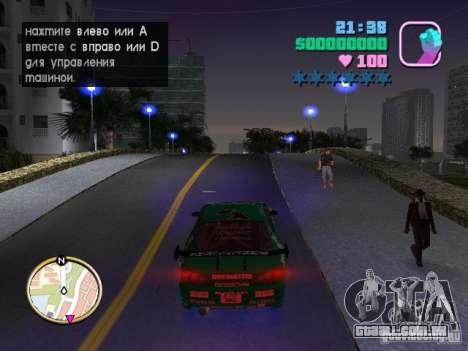 Nissan Silvia S15 Kei Office D1GP para GTA Vice City vista traseira