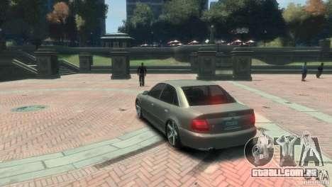 Audi S4 para GTA 4 vista direita