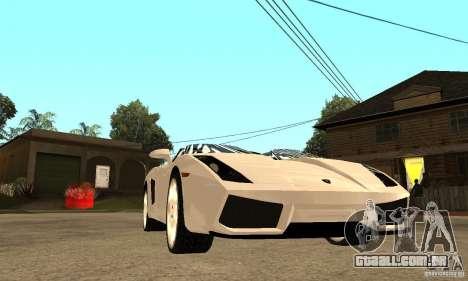 Lamborghini Concept S v2.0 para GTA San Andreas