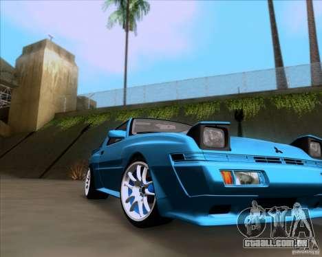 Mitsubishi Starion para GTA San Andreas vista direita