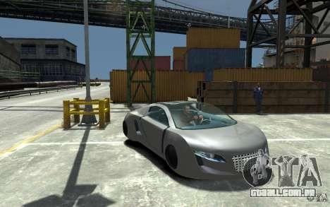Audi RSQ Concept para GTA 4 vista de volta