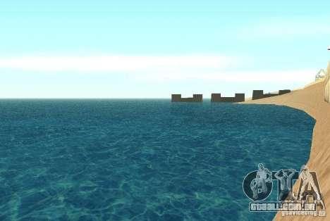 Água nova textura para GTA San Andreas