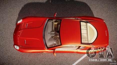 Ferrari 599 GTB Fiorano 2006 (Beta) para GTA 4 vista direita