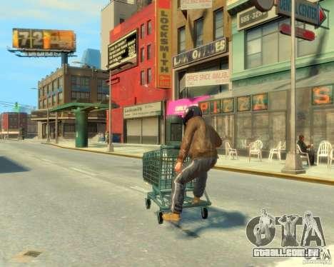 Trole para GTA 4 esquerda vista