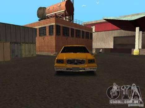 Toyota Century v2 para GTA San Andreas vista traseira