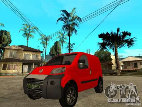 Fiat Fiorino Combi para GTA San Andreas