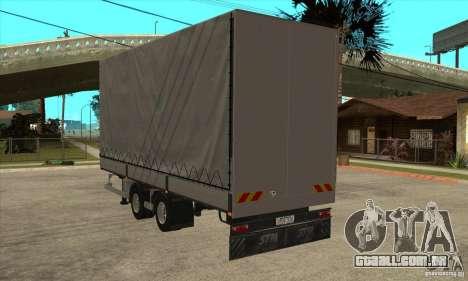 Trailer para GTA San Andreas esquerda vista