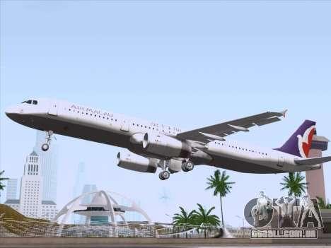 Airbus A321 Air Macau para o motor de GTA San Andreas