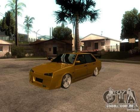 VAZ 21099 carro Tuning para GTA San Andreas