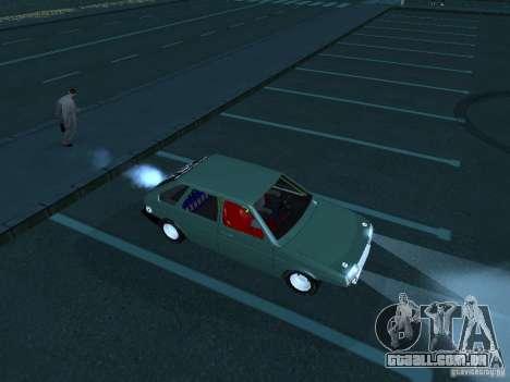 Arrastar 2109 VAZ para GTA San Andreas esquerda vista