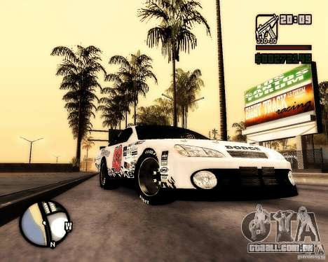 Dodge Nascar Beers Light 40 para GTA San Andreas