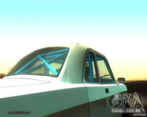Gaz Volga 2410 Drift Edition para GTA San Andreas vista traseira