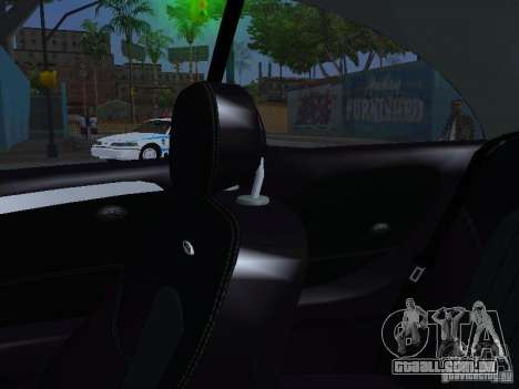 Mercedes-Benz CLK55 AMG para GTA San Andreas vista inferior