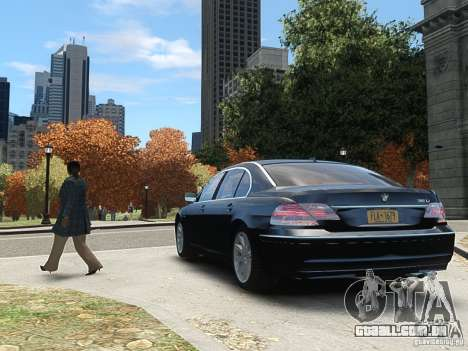 BMW 7 Series E66 2011 para GTA 4 vista direita
